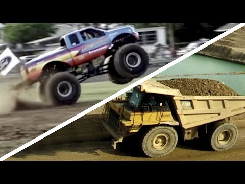 Truck Tunes Favorites - ONE HOUR of truck videos and music for kids