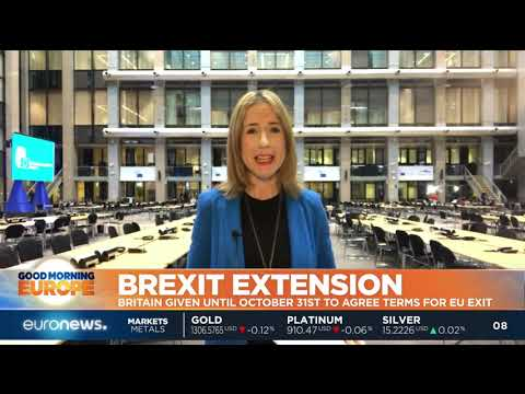 EU leaders give Theresa May a Brexit delay until October 31 | GME