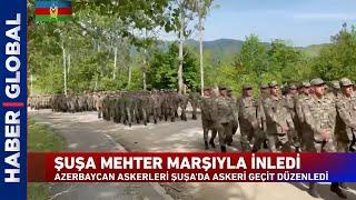 Karabağ'da Mehter Marşı Yeri Göğü İnletti!