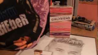 New Stuff Justin: Believe Acoustic , Girlfriend , Drawing Justin and Pillow Justin!