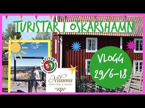 VLOGG | TURISTAR I OSKARSHAMN