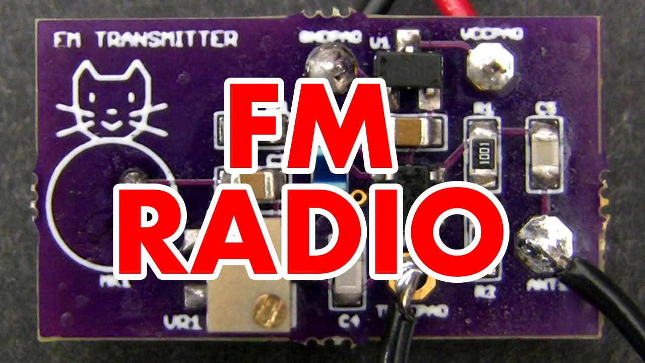 frequency modulation tutorial \u0026 fm radio transmitter circuit youtubefrequency modulation tutorial \u0026 fm radio transmitter circuit