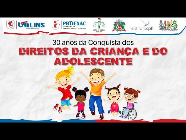 Seminário Serviço Social - 30 anos do ECA - 28/10