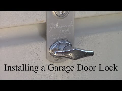 Garage Door Manual Lock