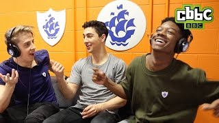 The Next Step - Blue Peter Whisper Challenge