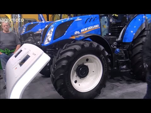The 2018 New Holland T5 120 Tractor