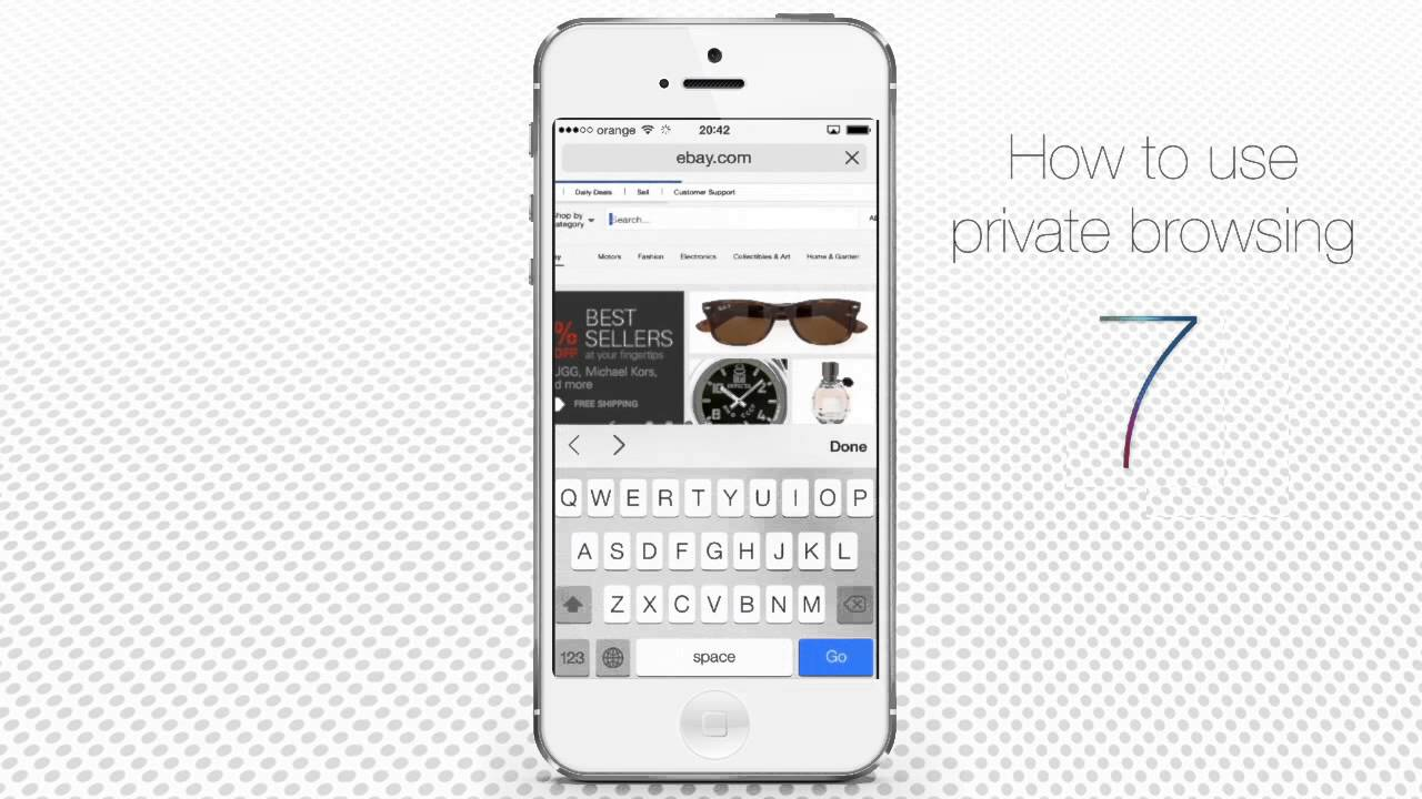 where is private browsing on iphone how to use browsing on iphone running on ios 7 19622