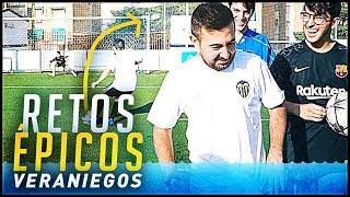 EPICOS RETOS DE FUTBOL DE VERANO ft. Spursito x Victor + ¡¡EL GRAN TORNEO DE LA ÉLITE!!