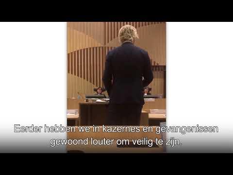 Laatste woord Geert Wilders, 7 december, Rechtbank Schiphol, regiezitting hoger beroep