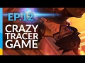 Crazy Tracer Game | Overwatch Road To Top 500 - Ep 12