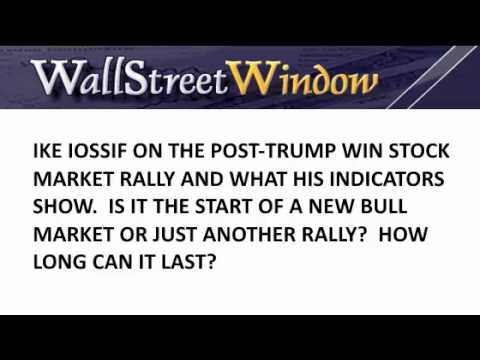 Ike Iossif on the Post-Election Stock Market Rally (12/16/2016)