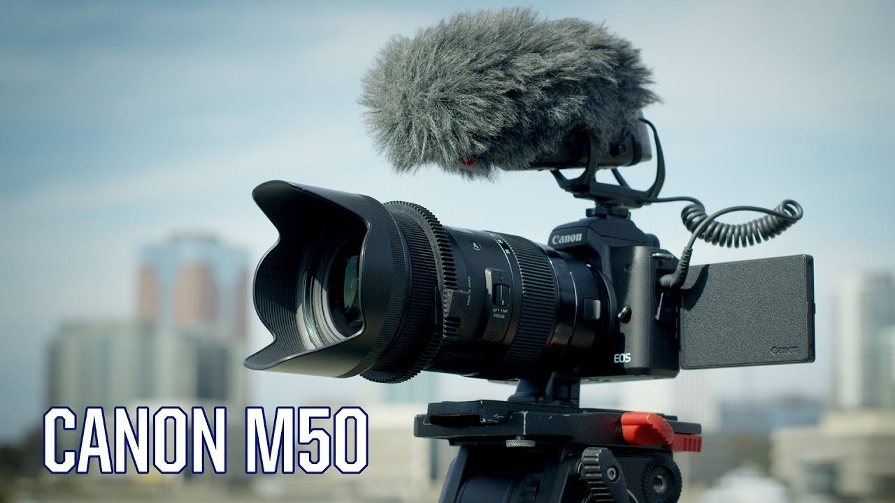CANON M50 Video   EVERYTHING YOU NEED TO KNOW