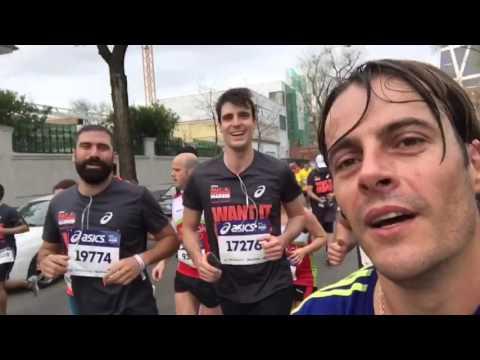 Media Maratón De Madrid - Probando El Suunto Ambit3 Vertical Con Amigos