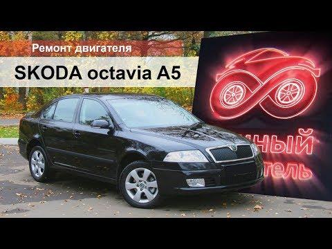 Шкода Октавия 1.6 ремонт двигателя BLS