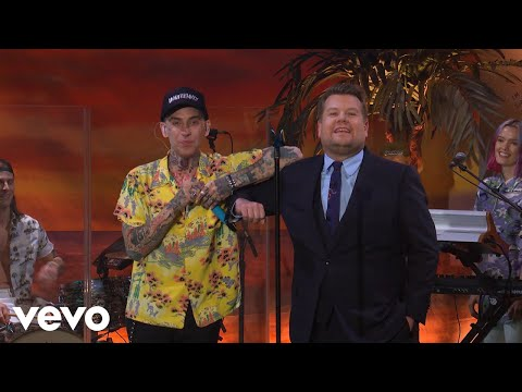 blackbear - hot girl bummer (The Late Late Show with James Corden)