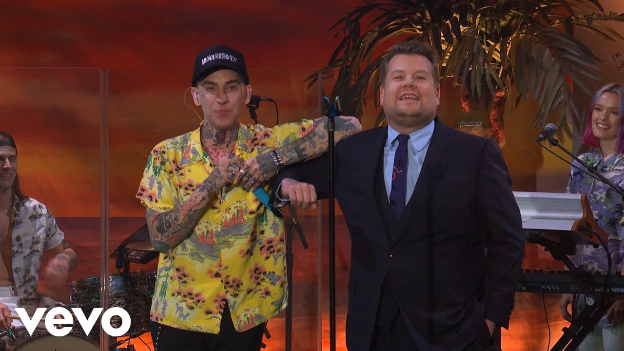 blackbear - hot girl bummer (The Late Late Show with James Corden/2020)