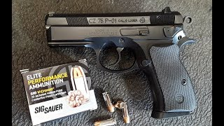 CZ 75 P01 - Shooting & Reviewing This Compact Pistol