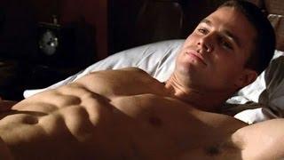 Arrow TV Series Stephen Amell ( oliver queen ) All workout scenes - season 1, season 2
