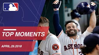 Betts, Venters highlight Top 10 Moments of 4/25/2018