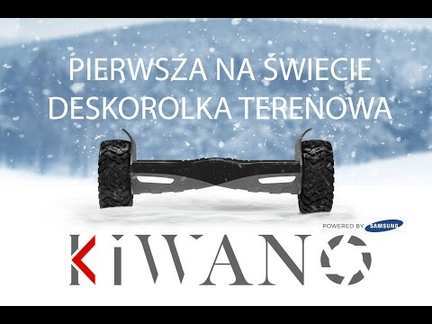 Deskorolka Elektryczna Samsung KIWANO KO X - Electric All Terrain Scooter Official Video