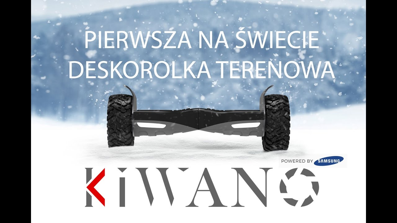 deskorolka elektryczna samsung kiwano ko x electric all terrain scooter official video