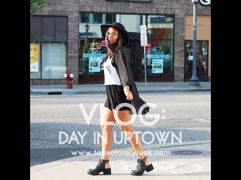 VLOG: day in Uptown & photoshoot