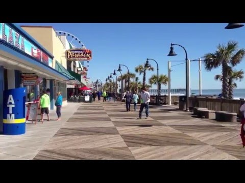 Take a walk on the Myrtle Beach Boardwalk
