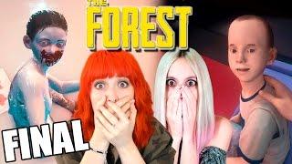 NO ME PUEDO CREER EL FINAL DE THE FOREST! 😱 -con Reah en 4.0-   THE FOREST   Ep.37