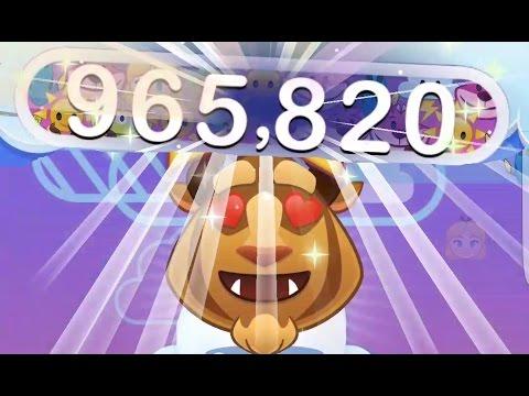 Disney Emoji Blitz - BEAST - skill level 5 - gameplay