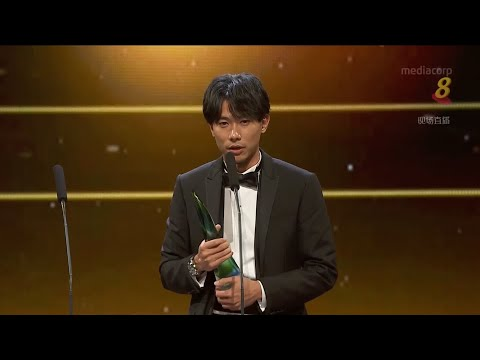 Desmond Tan wins Best Actor in Star Awards 2018