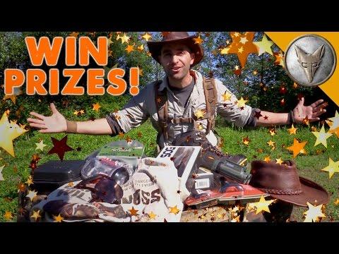 Coyote's Treasure Hunt - WIN Adventure Gear and Prizes!