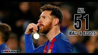 Lionel Messi ● All 51 Goals & Assists So Far ● Season review-2018/19 HD