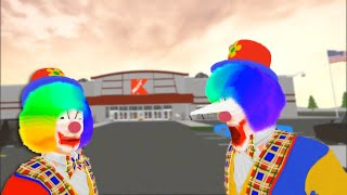 The Boys Clowning around in K Mart