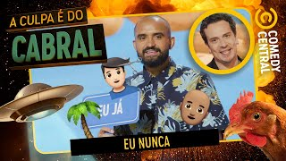 Eu nunca do CORTE ERRADO! | A Culpa É Do Cabral no Comedy Central