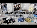 Cleaning my room: Winter Edition!!!!!