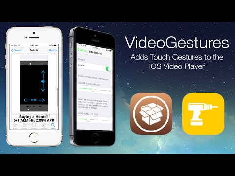 VideoGestures: Adds Touch Gestures to the iOS Video Player