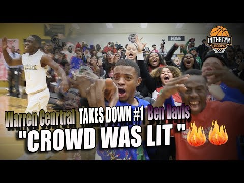 Warren Central takes DOWN Indiana #1 Ben Davis High School and CROWD WAS LIT 