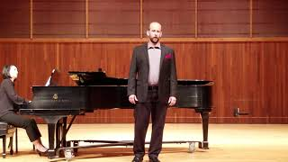 Daniel Spiotta sings When the air sings of summer from The Old Maid and the Thief