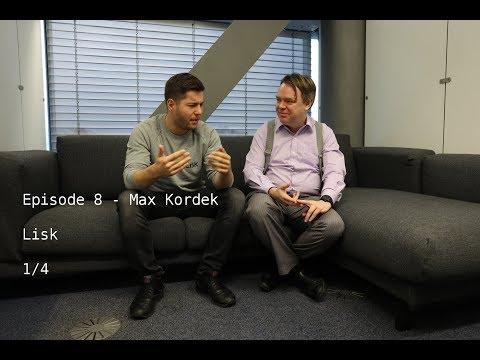 Max Kordek of Lisk Talks Cryptocurrency, Blockchain, and ICO's