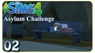 Shiva bricht die Regeln! #02 Die Sims 4 - Asylum Challenge [deutsch]