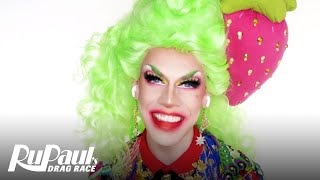 Utica Queen's Strawberry Entrance Look 🍓 Ruvealing the Look | RuPaul's Drag Race S13