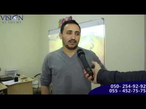 Xarici Şirkətlərə hazırliq Seminarı - Amid Xəlilov
