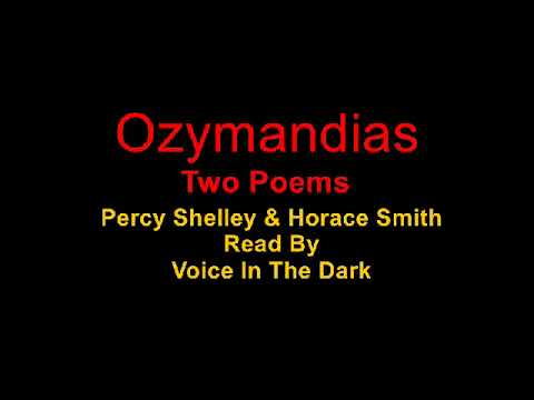Ozymandias - Two Poems - Read by Voice In The Dark