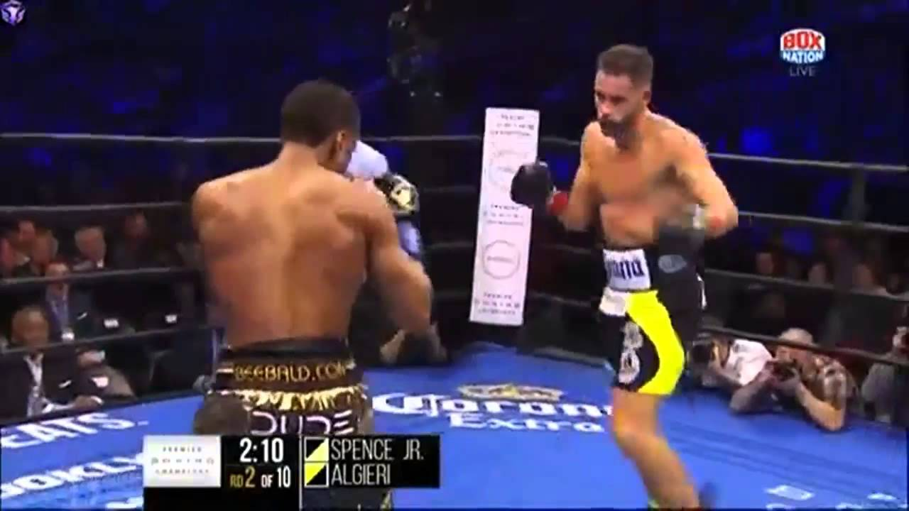 Errol Spence Jr vs Chris Algieri - FULL FIGHT - YouTube