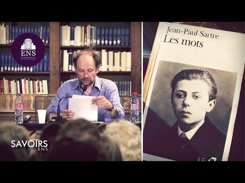 """Denis Podalydès lit """"Les mots"""" de Jean-Paul Sartre"""