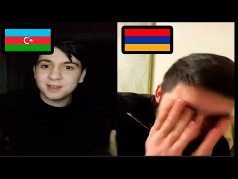 Азербайджанец разговаривает с Армянином