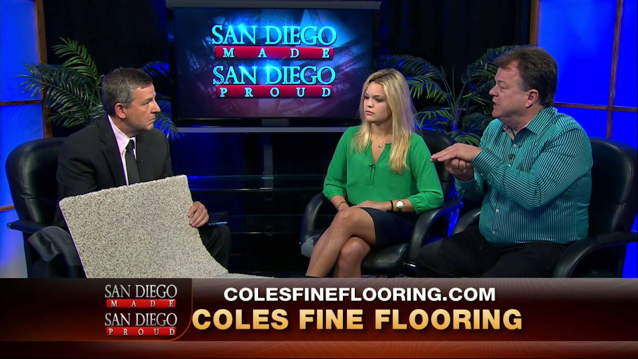 Exceptional Coles Fine Flooring On San Diego Made San Diego Proud   YouTube