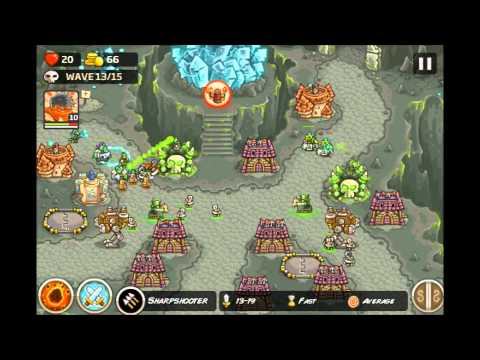Kingdom Rush Frontiers - Emberspike Depths  3 Stars (Final L