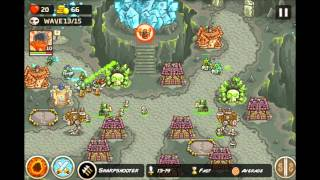 Kingdom Rush Frontiers - Emberspike Depths  3 Stars (Final Level) E15