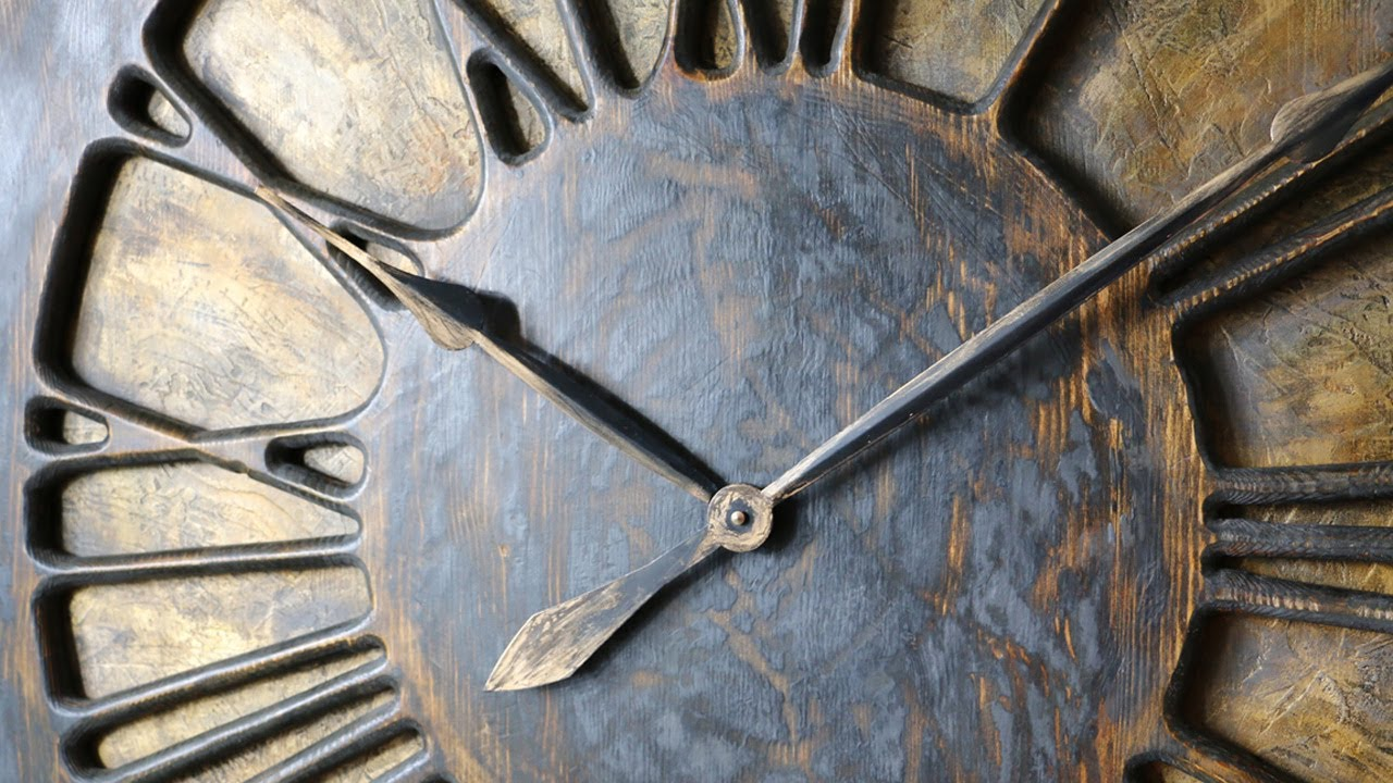 Extra Large Wall Clocks With A Wow Factor Handmade From Wood